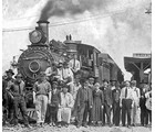 In the spring of 1916 Tallassee Power Company started construction of a railroad station in Badin.